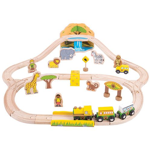 Big Jigs Safari Train Set BJT069