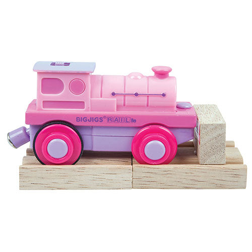 Big Jigs Pink Battery Steam Engine BJT305