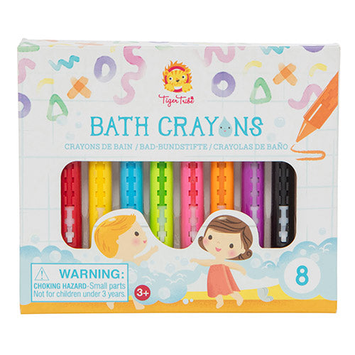 Tiger Tribe - Coloured Bath Crayons     7-0127