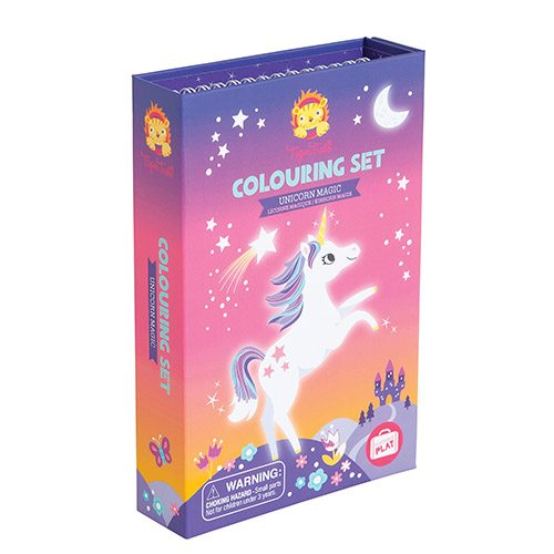 Tiger Tribe Colouring Set Unicorn Magic 6 0237 (Best seller)