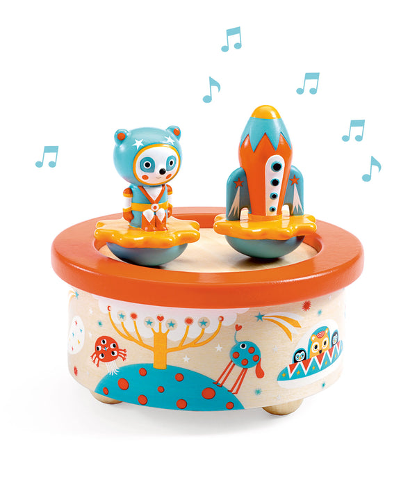 Djeco Magnetic Musical Box Space Melody