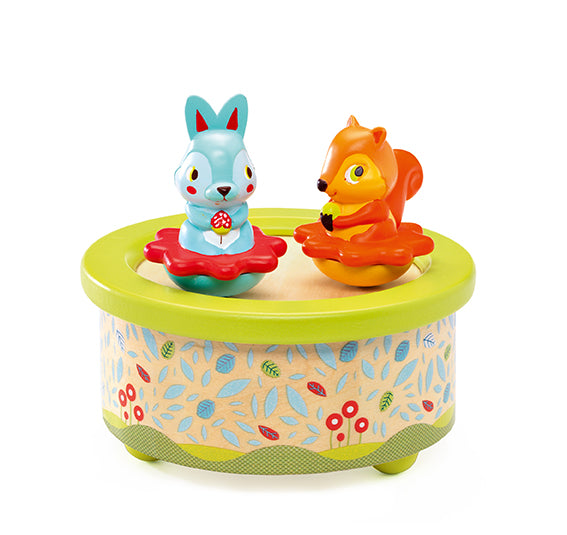 Djeco Magnetic Musical Box Friends Melody