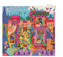 Djeco Silhouette Puzzle The Fairy Castle 54 Pieces