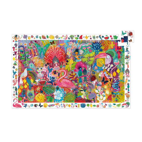 Puzzles Djeco Observation Puzzle Rio Carnival 200 Pieces