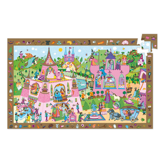 Djeco Observation Puzzle Princesses 54 Pieces