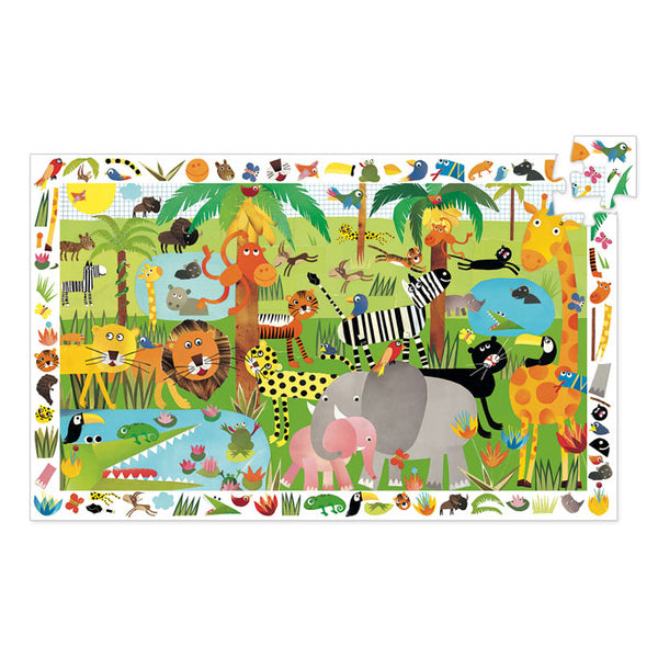 Djeco Observation Puzzle Jungle 35 Pieces