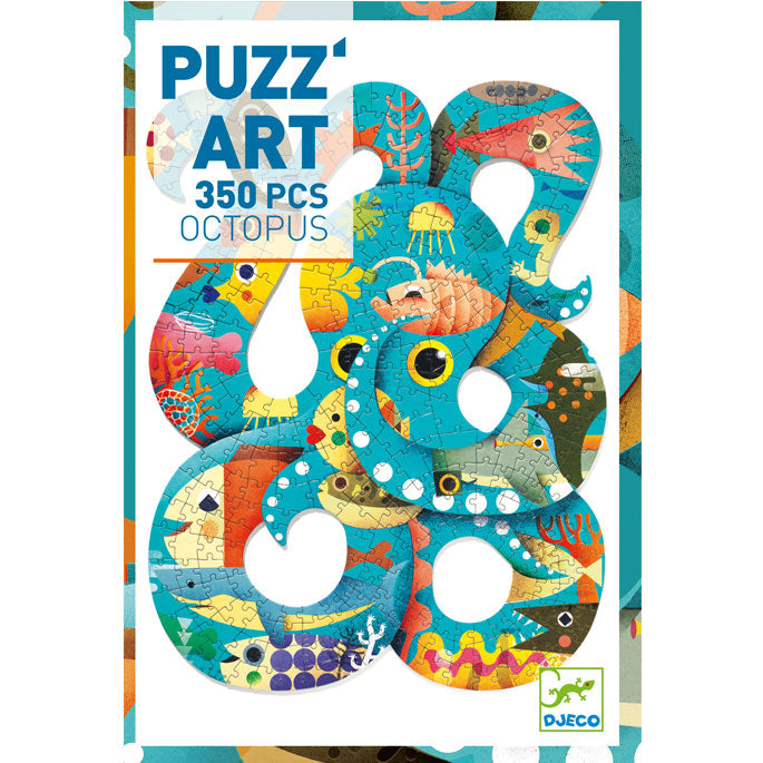 Djeco Puzzle Art Octopus 350 Pieces