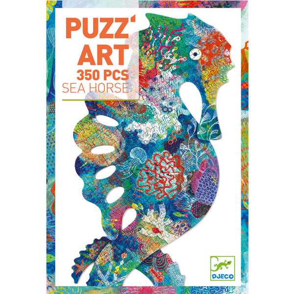 Djeco Puzzle Art Sea Horse 350 Pieces