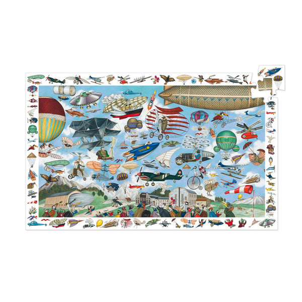 Djeco Observation Puzzle Aero Club 200 Pieces