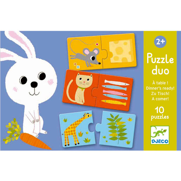 Puzzles For Toddlers Djeco Duo Puzzle Dinners Ready