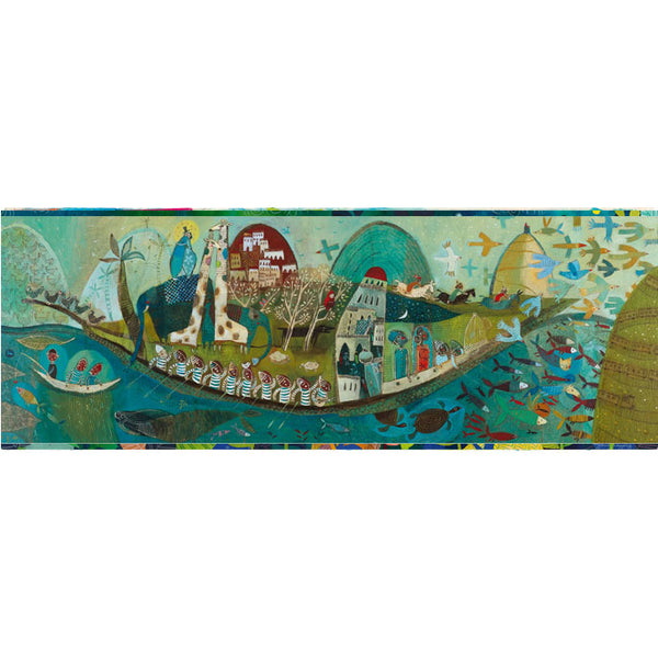 Puzzles Djeco Gallery Puzzle Poetic Boat 350 Pieces
