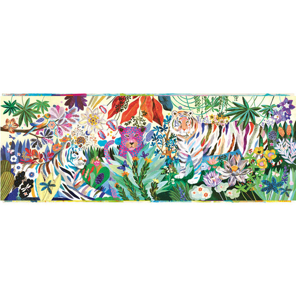 Puzzles Djeco Gallery Puzzle Rainbow Tigers 1000 Pieces
