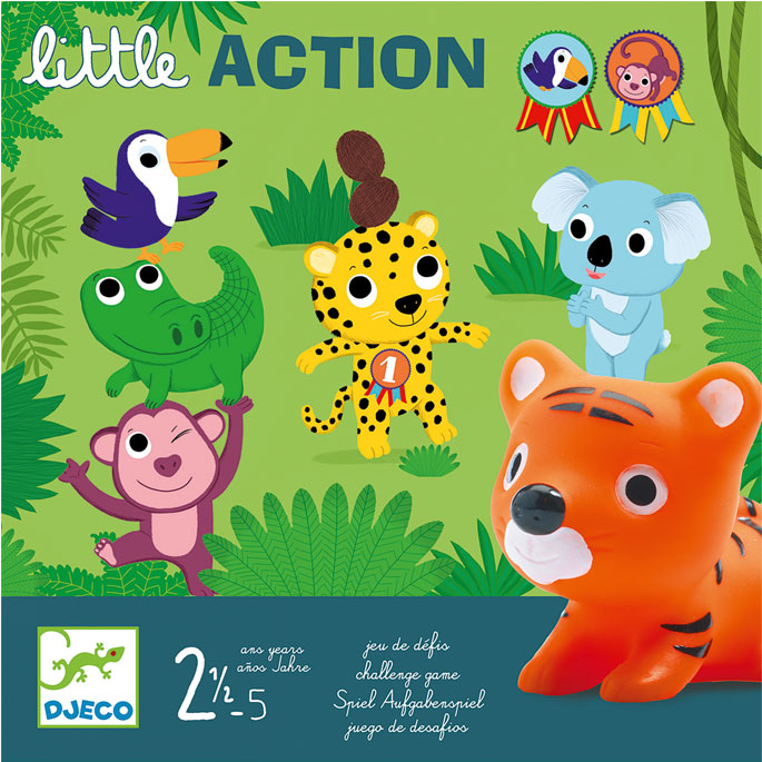 Educational Game Djeco Little Action
