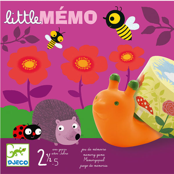 Educational Game Djeco Little Memo
