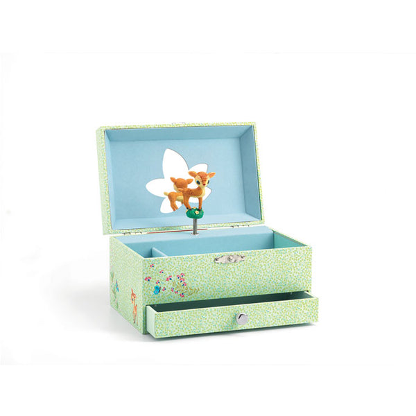"Musical jewellery box ""The fawn's song"""