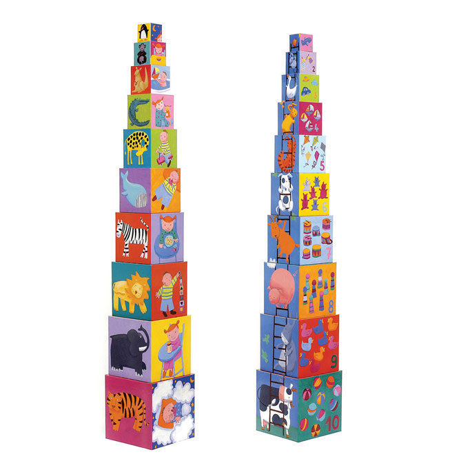 Djeco Toddler Blocks or Stacking Blocks