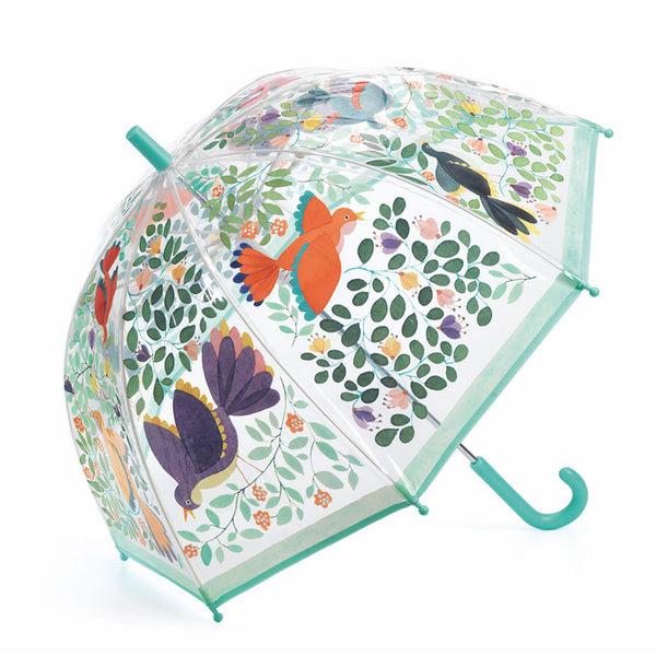 "Umbrella ""Flowers & birds"""