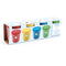 Djeco 4 Tubs Play dough Basic Colours