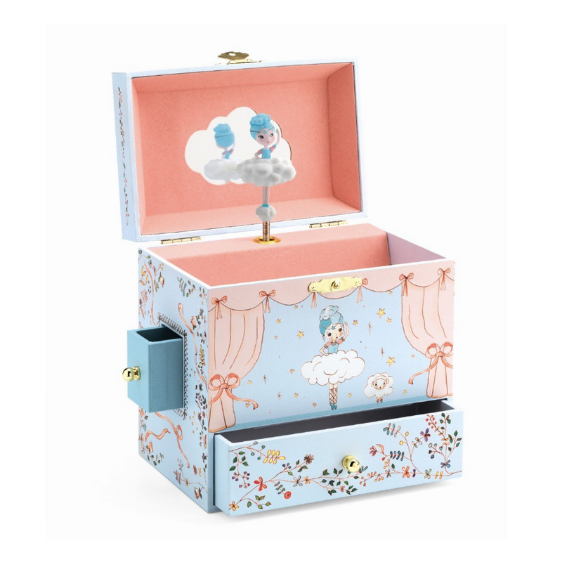 Musical Jewellery Box Ballerina On Stage