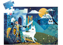 Djeco Shillhouette Puzzle Full Moon Kinght 36 Pieces
