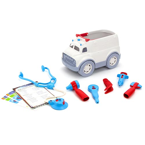 Green Toys Ambulance & Doctor's Kit GTAMDK1313