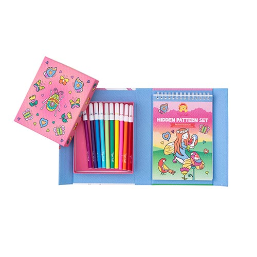 Tiger Tribe - Colouring Set - Hidden Fairies 6-0261