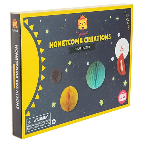 Tiger Tribe Honeycomb Creations Solar System 6 0608