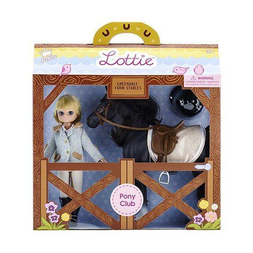 Lottie Pony Club ® Horseriding Doll Set LT054