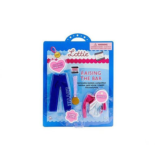 Lottie Doll Outfit Set Raising the Bar (Gymnastics) LT036