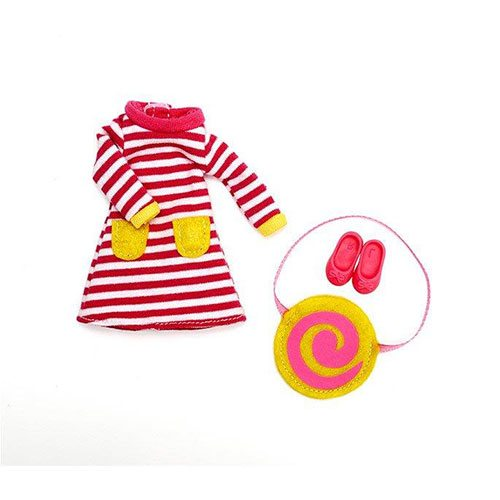 Lottie Doll Outfit Set Raspberry Ripple LT040