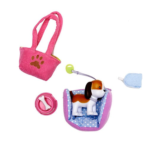 Lottie Accessory Set Biscuit the Beagle Dog LT011