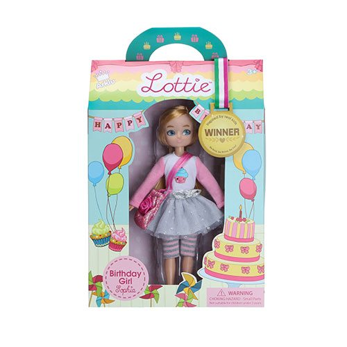 Lottie Doll Birthday Girl Sophia LT066