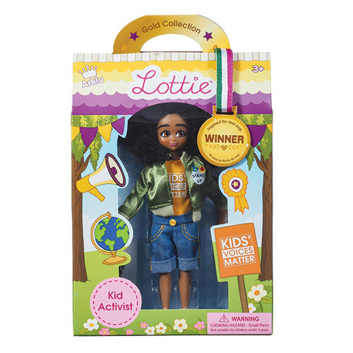 Lottie Doll Kid Activist LT071