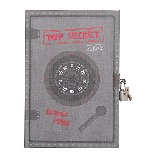 Tiger Tribe Lockable Diary Top Secrets 6 1603