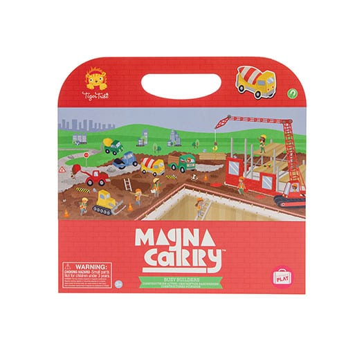 Tiger Tribe Busy Builders Magna Carry Set 6 1213