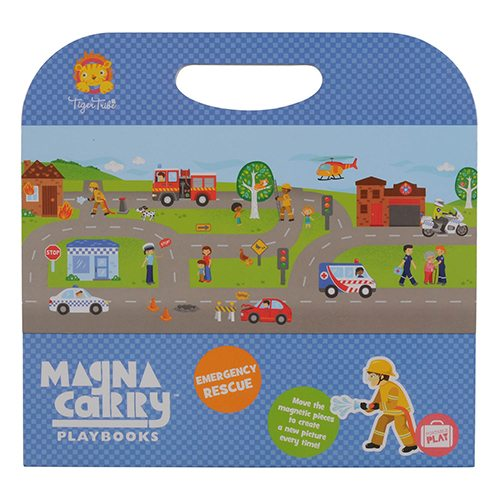 Tiger Tribe Emergency Rescue Magna Carry Set 6 1203