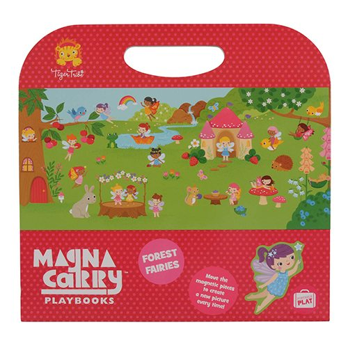 Tiger Tribe Forest Fairies Magna Carry Set 6 1210