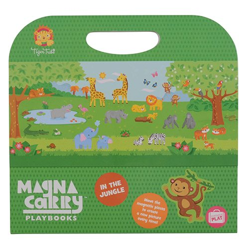 Tiger Tribe In the Jungle Magna Carry Set 6 1205