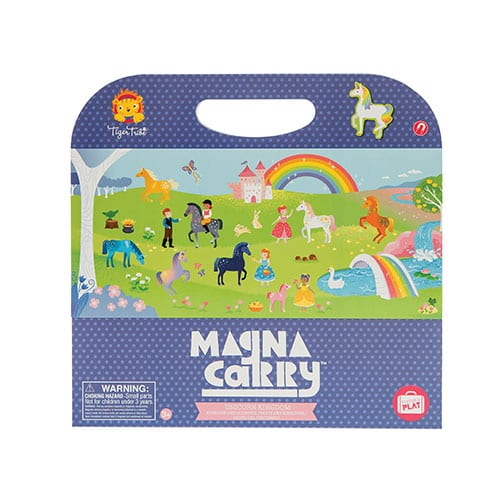 Tiger Tribe Unicorn Kingdom Magna Carry Set 6 1214