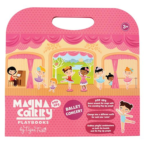 Tiger Tribe Ballet Concert Magna Carry Set 6 1202