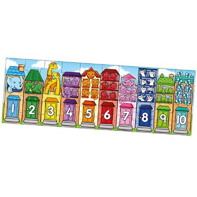 Orchard Number Street Floor Puzzle