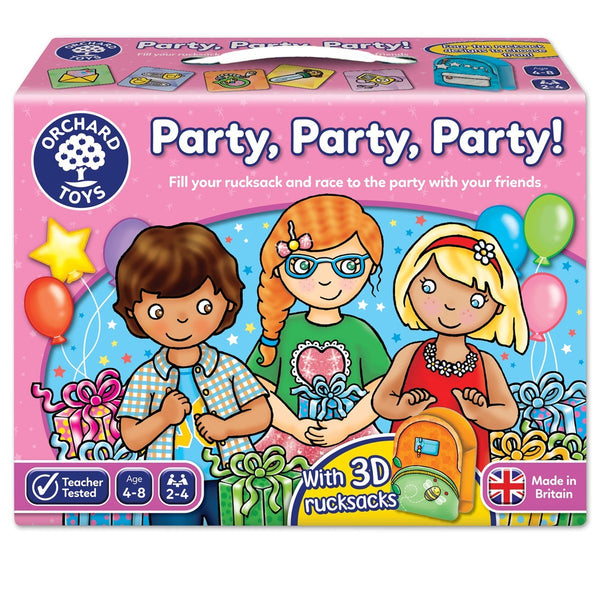 Orchard Toys Party! Party! Party! Game