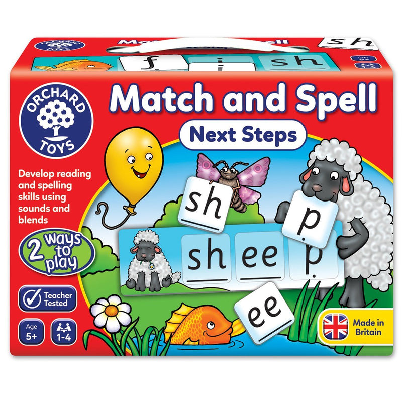 Orchard Match and Spell - Next Steps Game