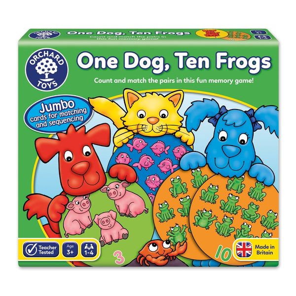 Orchard One Dog, Ten Frogs Game