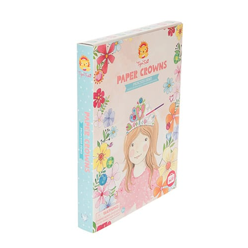 Tiger Tribe Paper Crowns, Princess Gems 14 015