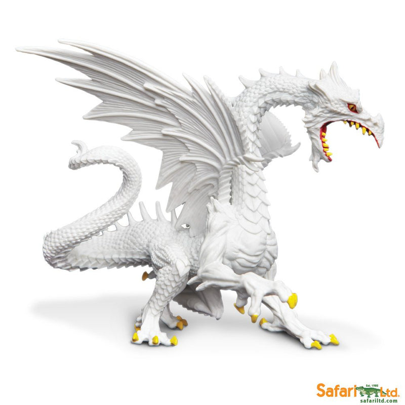 Safari Ltd Glow in the Dark Snow Dragon 10120