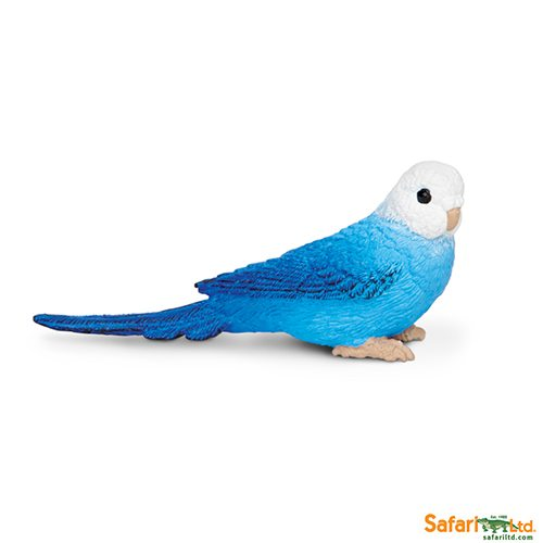 Safari Ltd Blue Budgie (Wings Of The World Birds) 150629