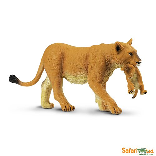Safari Ltd Lioness with Cub (Wild Safari) 225229