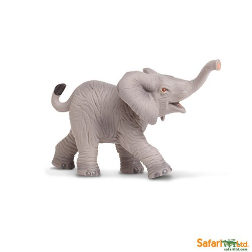 Safari Ltd African Elephant Baby (Wild Safari) 238529