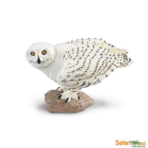 Safari Ltd Snowy Owl (Wings Of The World Birds) 264729